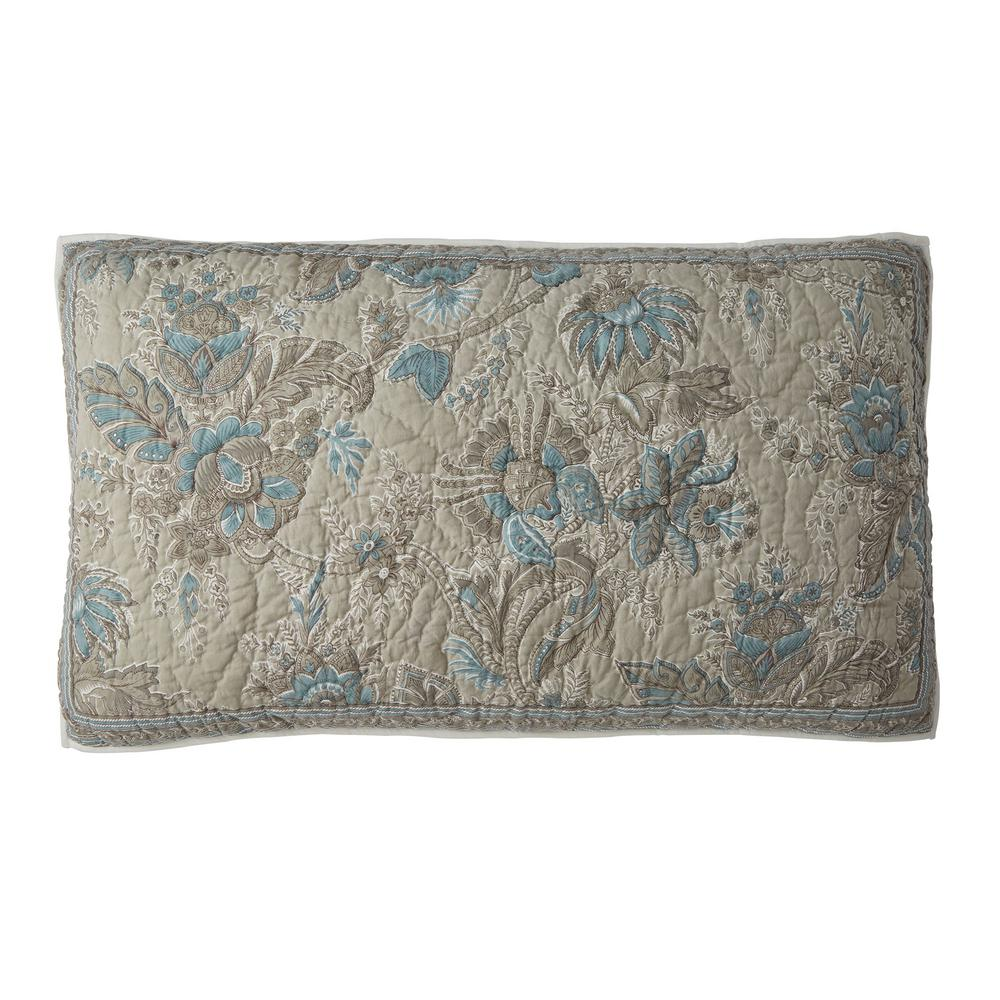 The Company Store Alexandra Multicolored Botanical Textured Cotton King Sham was $68.99 now $40.99 (41.0% off)