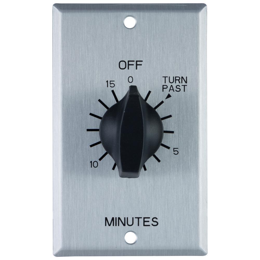 set timer for 15 mins