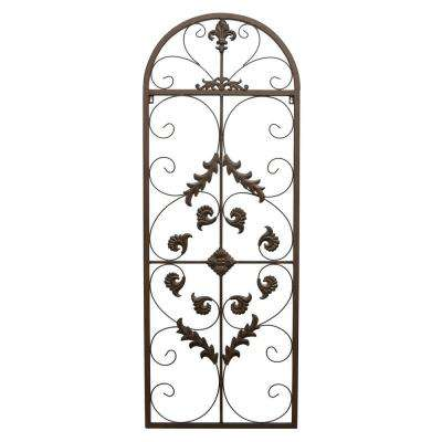 55 in. Metal Wall Art