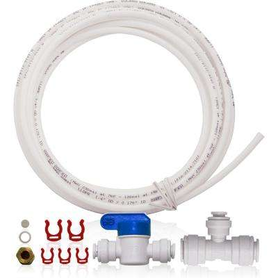 Ice Maker Kit for Upgraded 3/8 in. Output Reverse Osmosis Drinking Water Systems and Water Filters