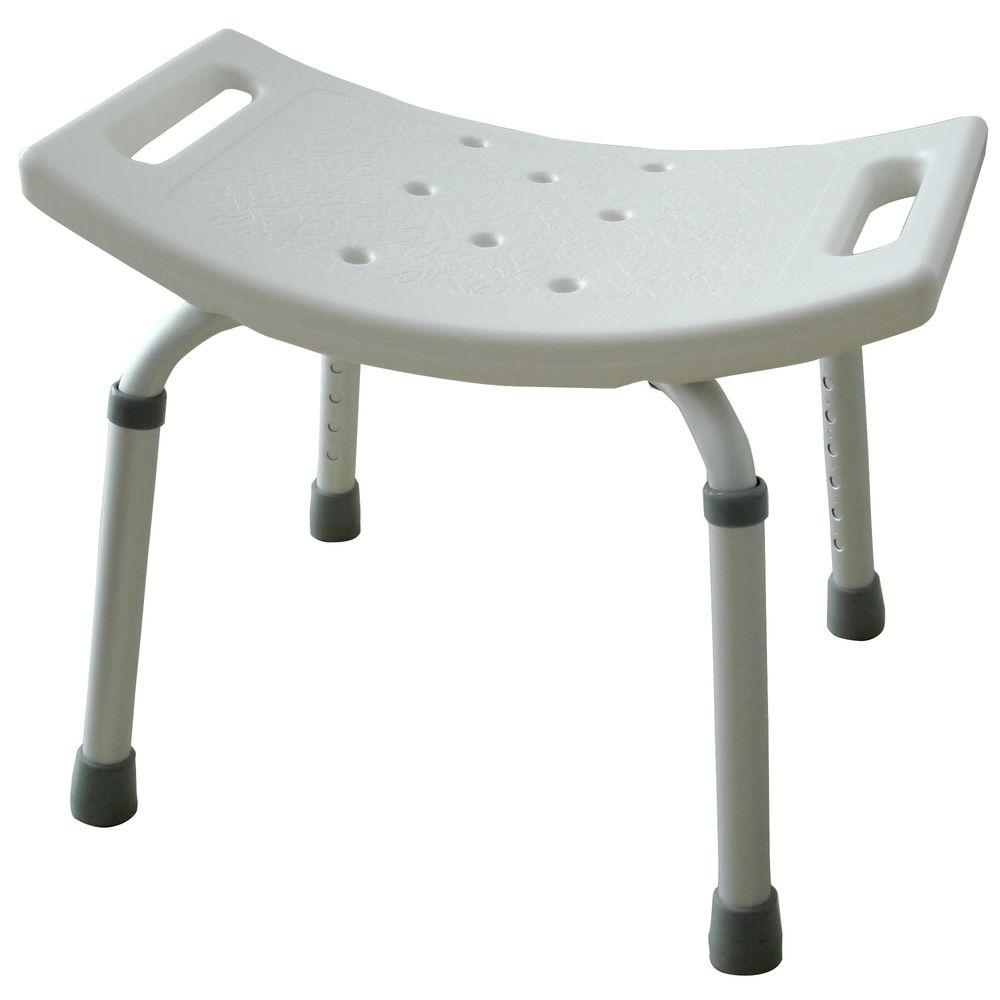 Amerihome Molded Plastic Shower Seat Bt07420 The Home Depot
