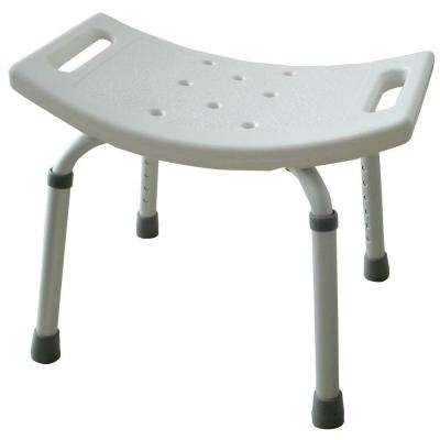 Molded Plastic Shower Seat