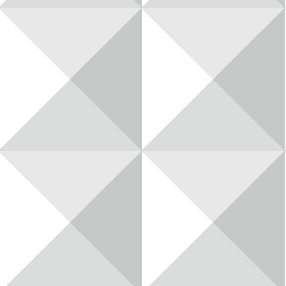 Origami Vinyl Peelable Wallpaper (Covers 28.18 sq. ft.)