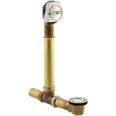 Clearflo 1-1/2 in. Brass Adjustable Pop-up Drain in Vibrant Polished Nickel