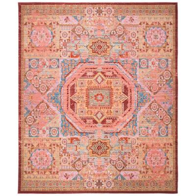 Valencia Multi 8 ft. x 10 ft. Area Rug