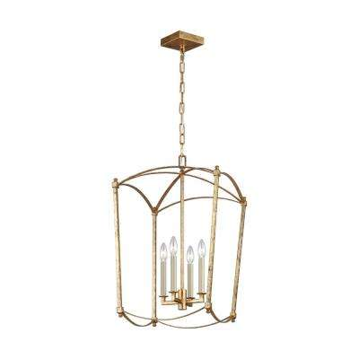 Thayer 4-Light Antique Guild Chandelier