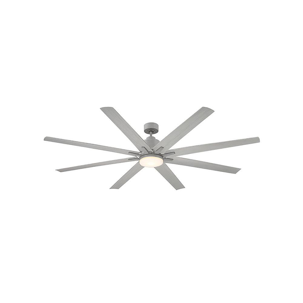 72 in. LED Grey Wood Ceiling Fan
