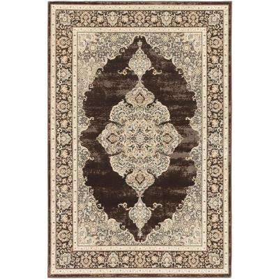 Shahrzad Kerman Cream 4 ft. x 5 ft. Area Rug
