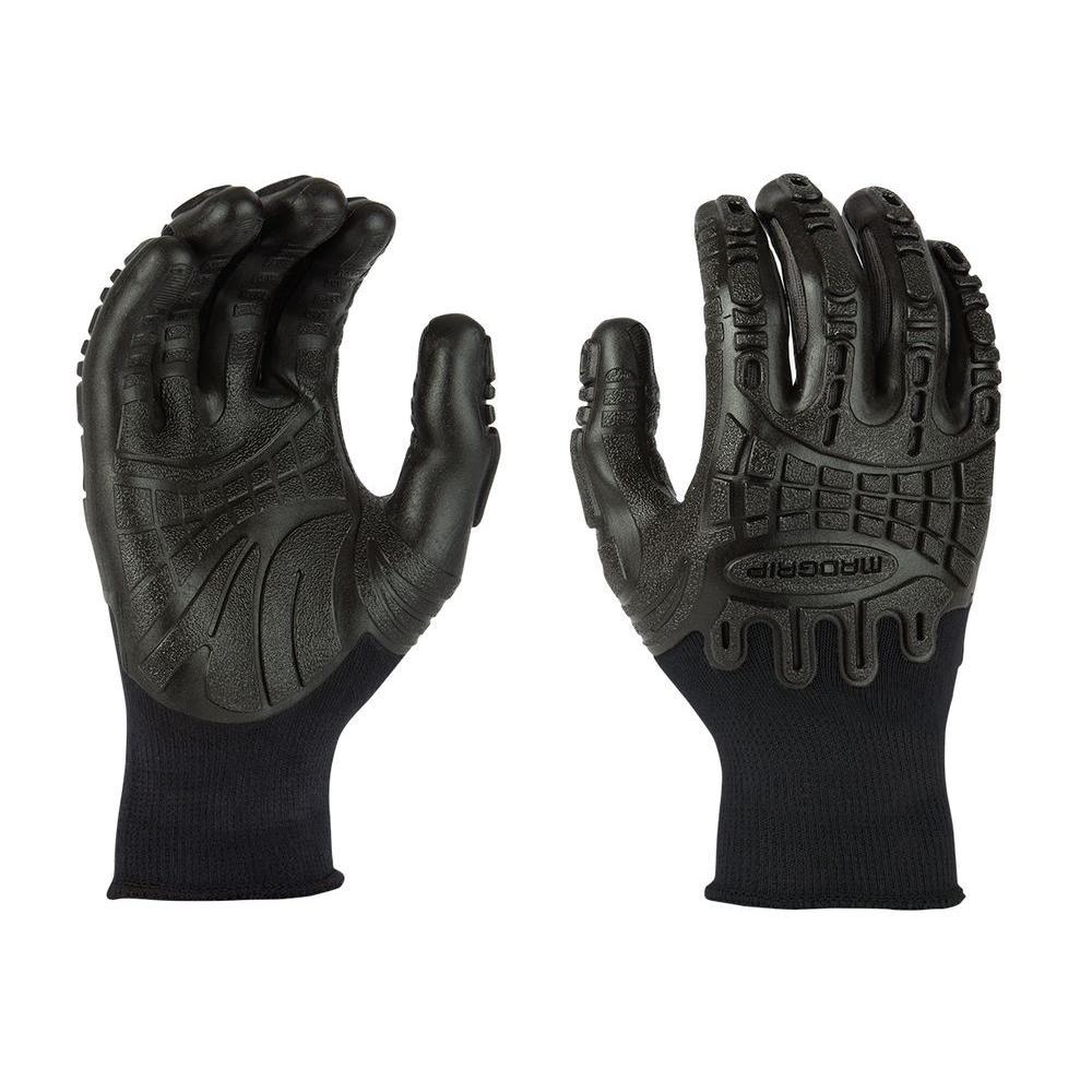 Thunderdome Impact Medium Flex Glove in Black