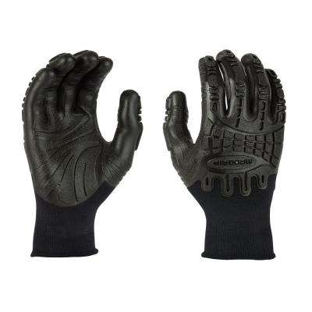 Thunderdome Impact XX-Large Flex Glove in Black
