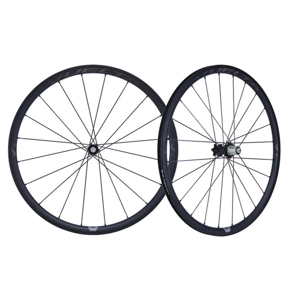 Carbon Pro V1-DB 700c Handbuilt Clincher 11SP Road Wheelset, Disc Brake