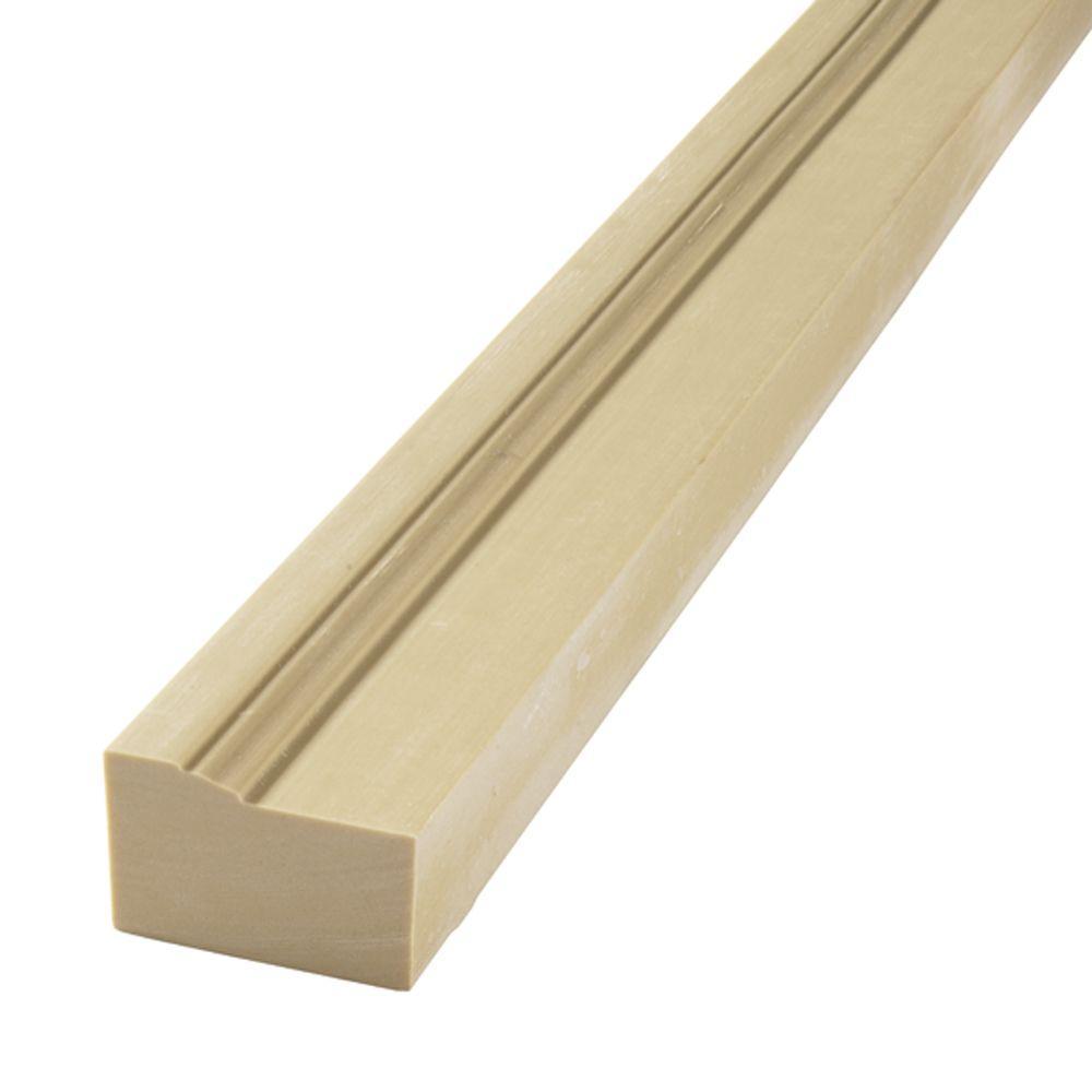 Flex Trim HD 180 1-1/4 in. x 2 in. x 120 in. Polyurethane 5/0 Flexible Half-Round Casing