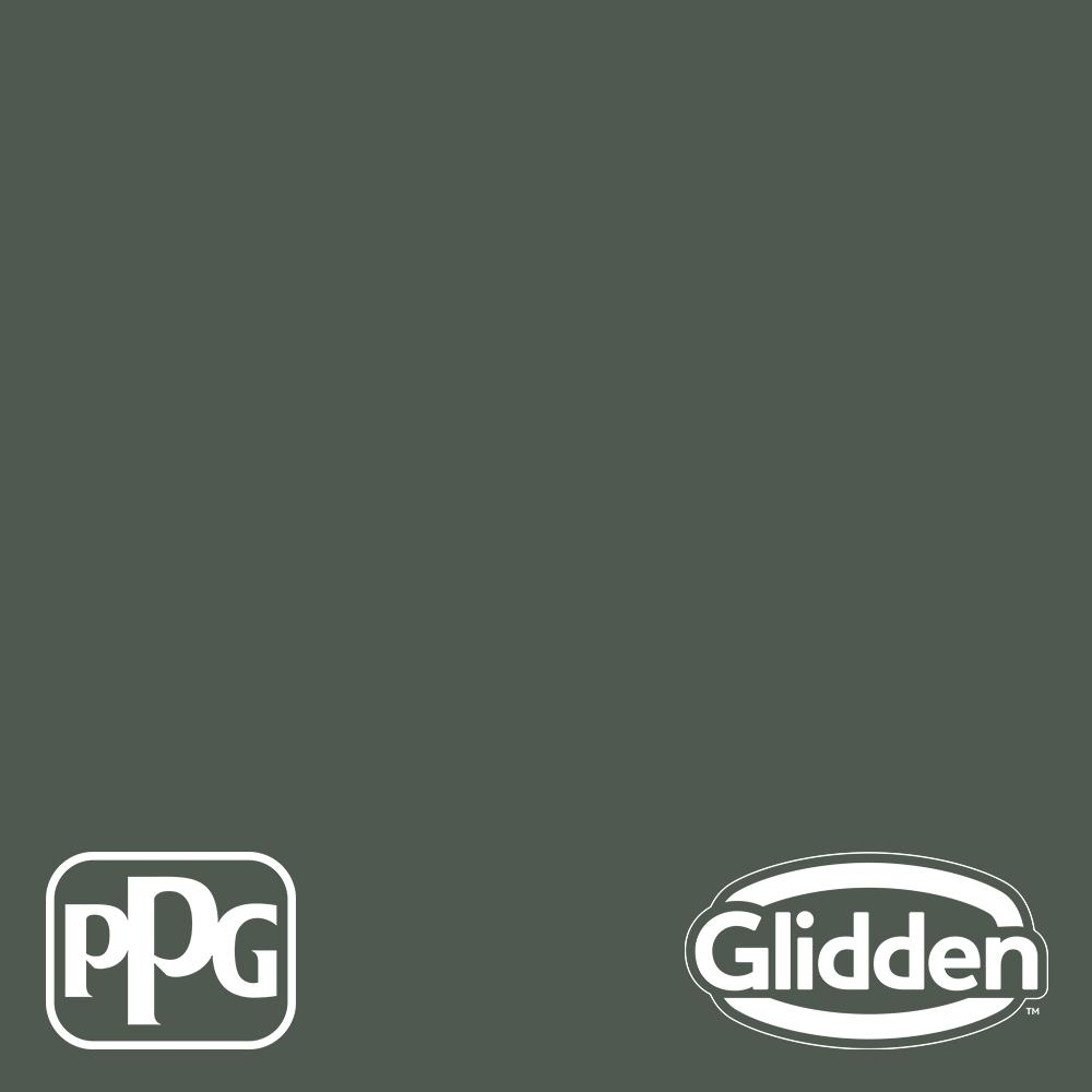 Glidden Premium 5 Gal Ppg1129 7 Evergreen Boughs Eggshell Interior Latex Paint Ppg1129 7p 05e The Home Depot