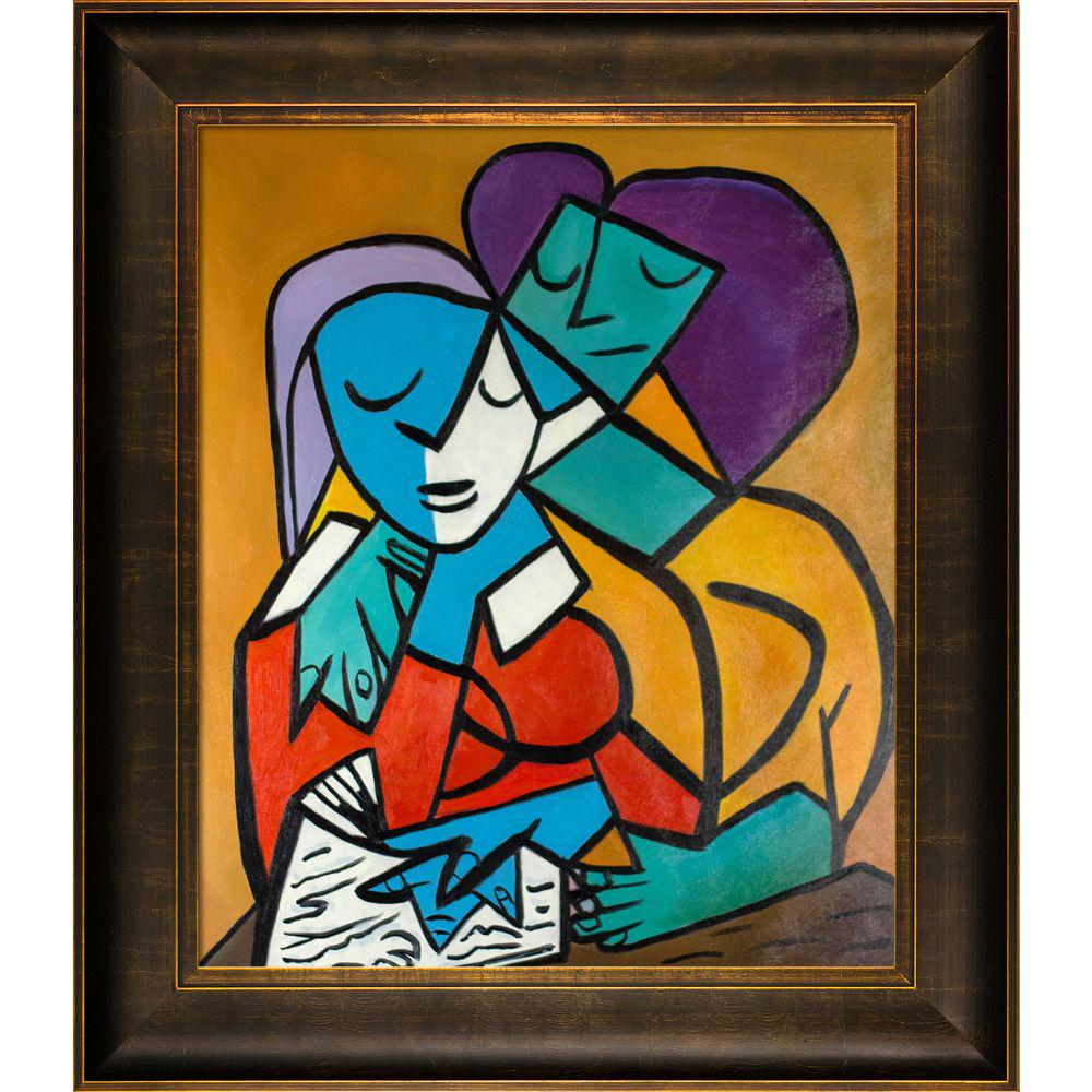 ArtistBe Picasso by Nora III with Veine D'Or Bronze Scoop Frameby Nora Shepley Canvas Print, Multi-color was $996.01 now $484.4 (51.0% off)