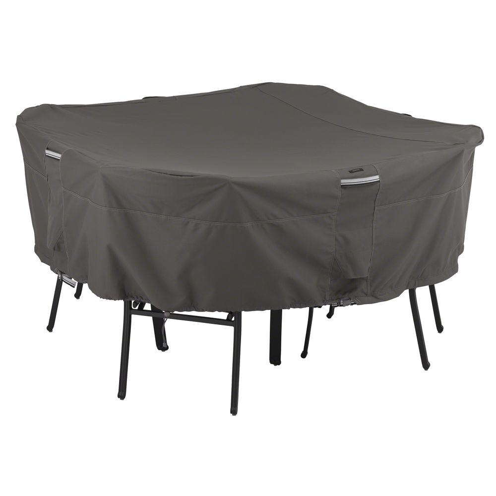 outdoorpatio table covers home. Classic Accessories Ravenna Medium Square Patio Table And Chair Set Cover-55-153-025101-EC - The Home Depot Outdoorpatio Covers
