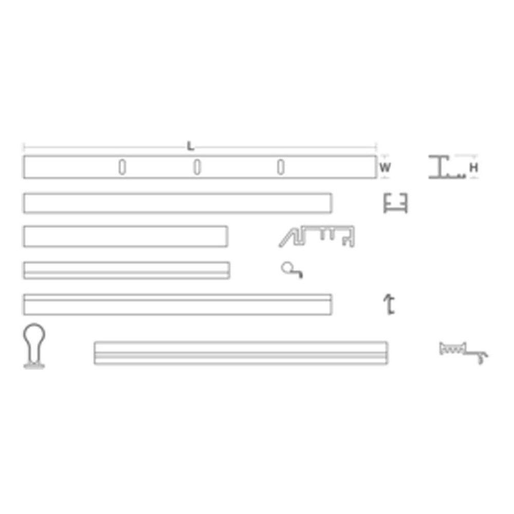 KOHLER 60 in. Pivot Door Assembly Kit