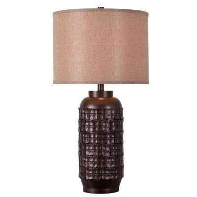 Axton 29 in. Chocolate Table Lamp