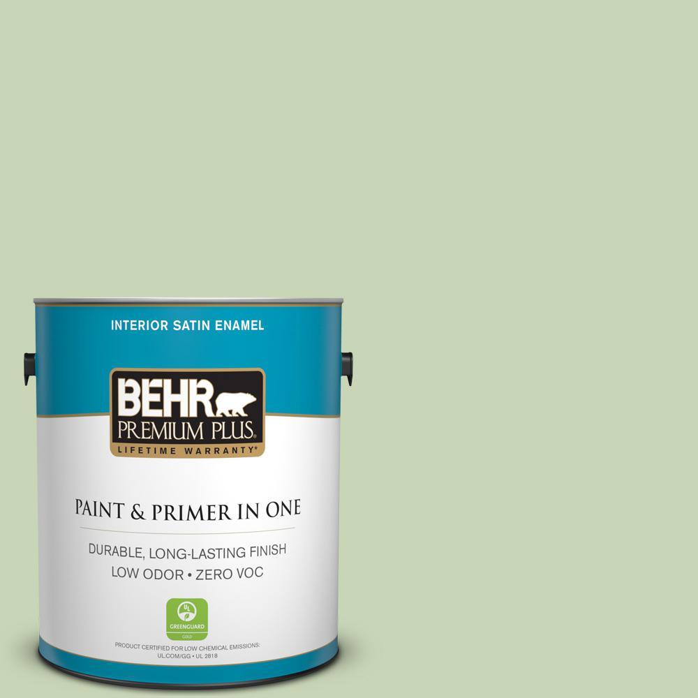 1-gal. #M370-3 Spice Garden Satin Enamel Interior Paint