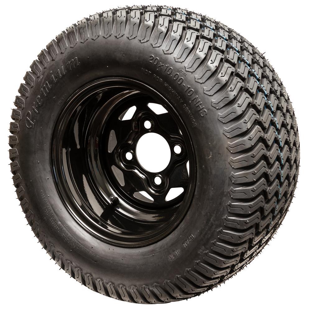 Swisher Replacement 20x10-10 Tire/Wheel for Select Swisher Zero Turn Mowers by Swisher