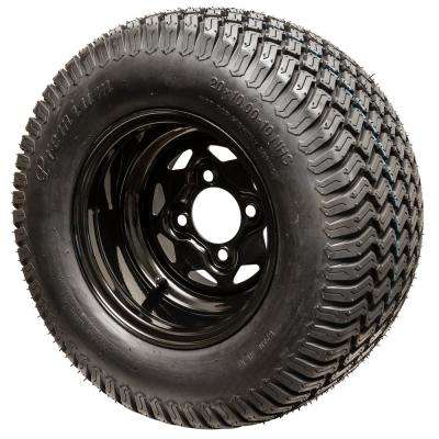 Replacement 20x10-10 Tire/Wheel for Select Swisher Zero Turn Mowers