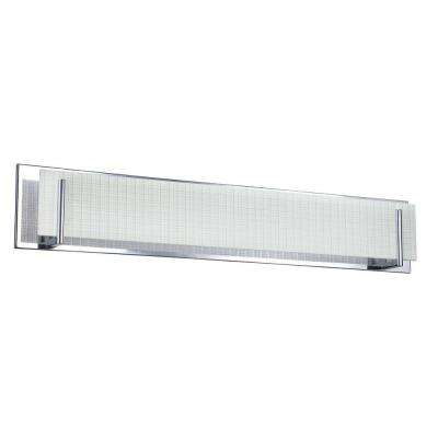 Cassiopeia 6-Light Ceiling Chrome Incandescent Vanity