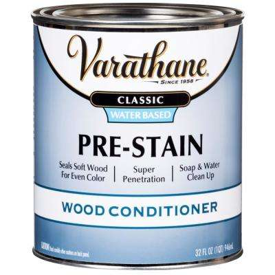 1 qt. Classic Water-Based Pre-Stain Wood Conditioner (2-Pack)