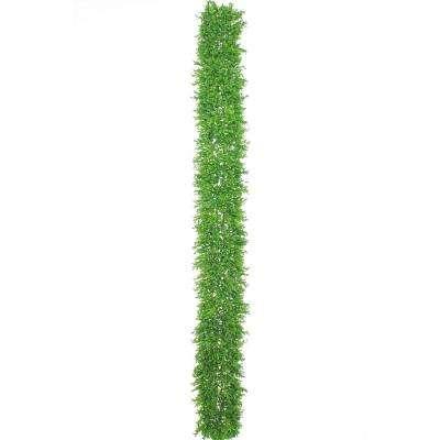 Boxwood Collection 6 ft. Green Boxwood Garland (1-Pack)