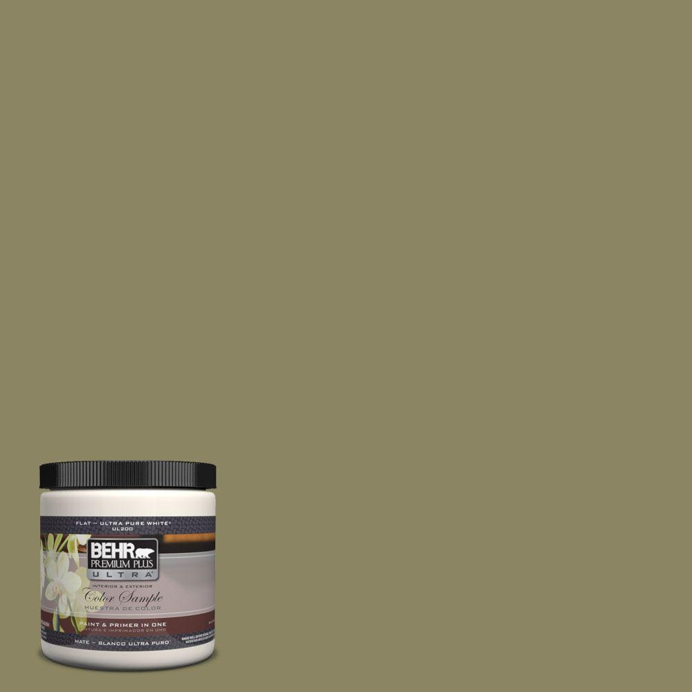 BEHR Premium Plus Ultra 8 oz. #UL200-19 Oregano Spice Interior/Exterior Paint Sample