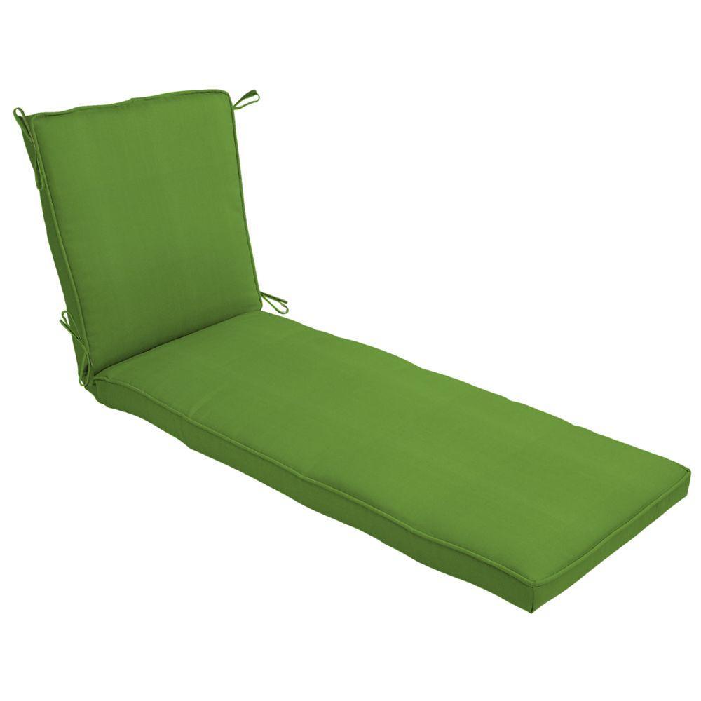 null Sunbrella Canvas Macaw Single Welt Chaise Cushion-DISCONTINUED