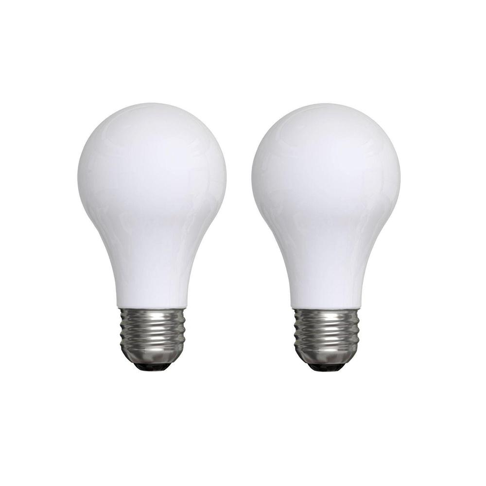 Ge 15 Watt Incandescent A15 Soft White Light Bulb 2 Pack 15aw