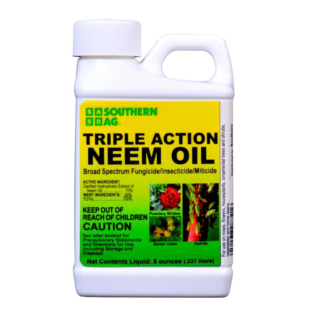 8 oz. Triple-Action Neem Oil