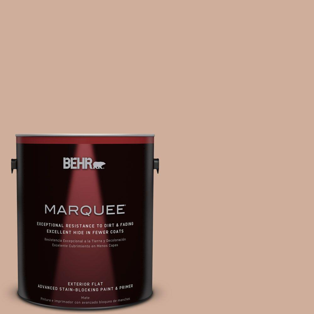 BEHR MARQUEE 1-gal. #S200-3 Iced Copper Flat Exterior Paint