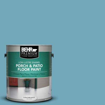 1 gal. #S460-4 Snowboard Low-Lustre Porch and Patio Floor Paint