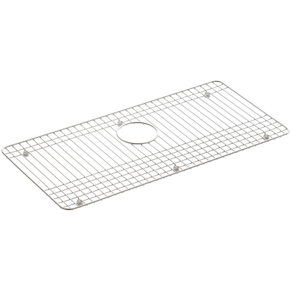 Dickinson 27-1/2 in. x 13-1/4 in. Bottom Sink Bowl Rack in