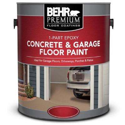 1 gal. White 1-Part Epoxy Concrete and Garage Floor Paint