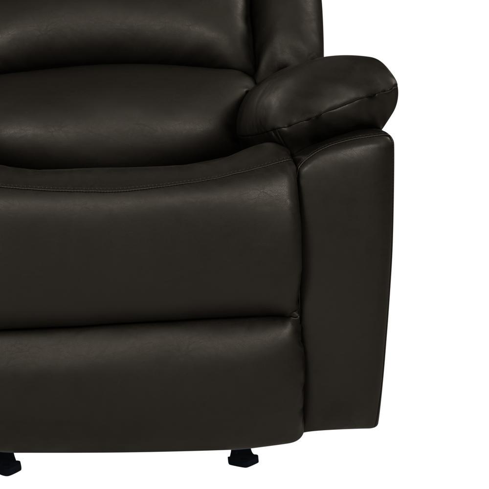 Fantastic Prolounger Espresso Brown Tuff Stuff Polyurethane Fabric Machost Co Dining Chair Design Ideas Machostcouk