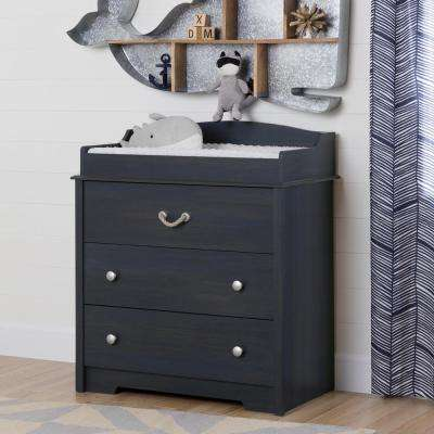 Avirorn 3-Drawer Blueberry Changing Table