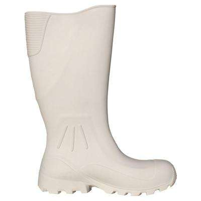 16 in. EVA White Cruiser Boot Size 10