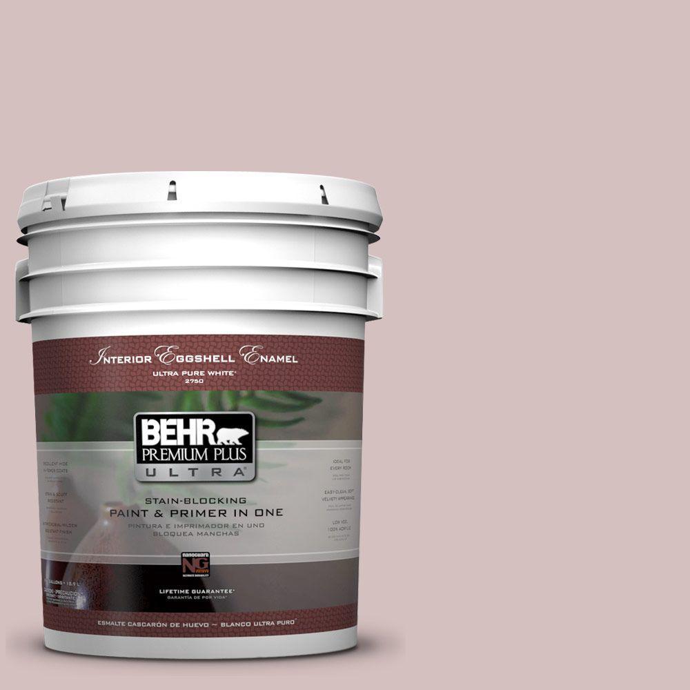 BEHR Premium Plus Ultra 5-gal. #710A-3 Sweet Breeze Eggshell Enamel Interior Paint