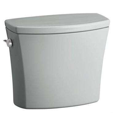 Kelston 1.28 GPF Single Flush Toilet Tank Only with AquaPiston Flushing Technology in Ice Grey