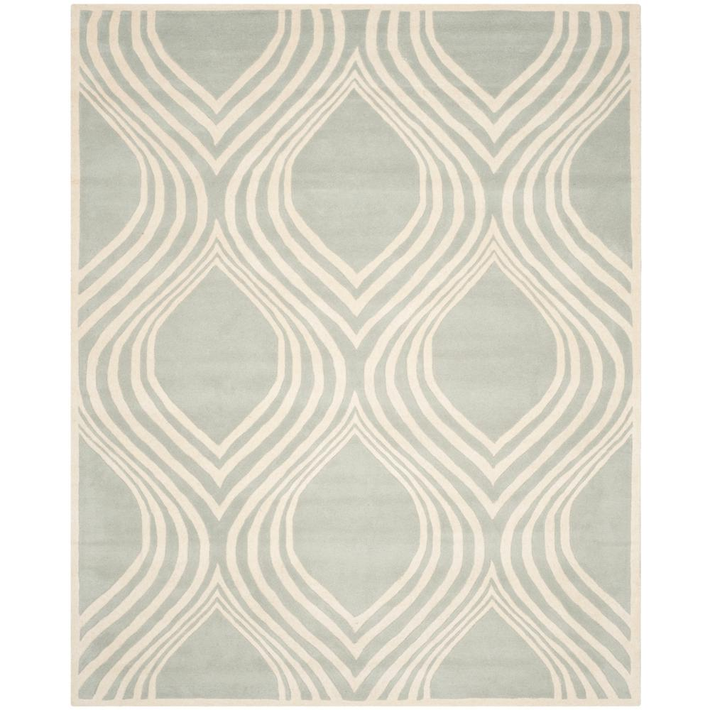 Chatham Gray/Ivory 8 ft. x 10 ft. Area Rug