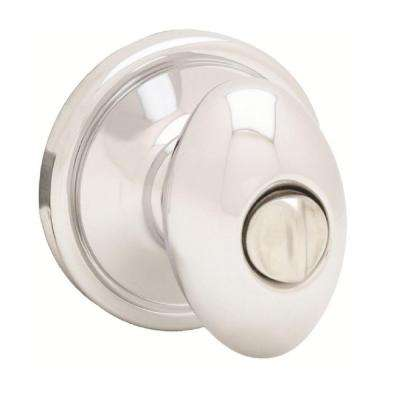 Laurel Polished Chrome Privacy Knob