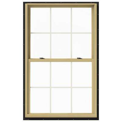 37.375 in. x 60 in. W-2500 Double Hung Aluminum Clad Wood Window
