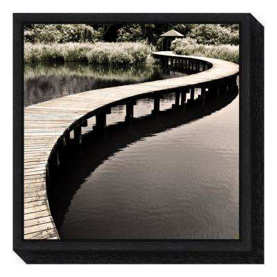 """""""Water Walkway"""" by Eric Chan Framed Canvas Wall Art"""