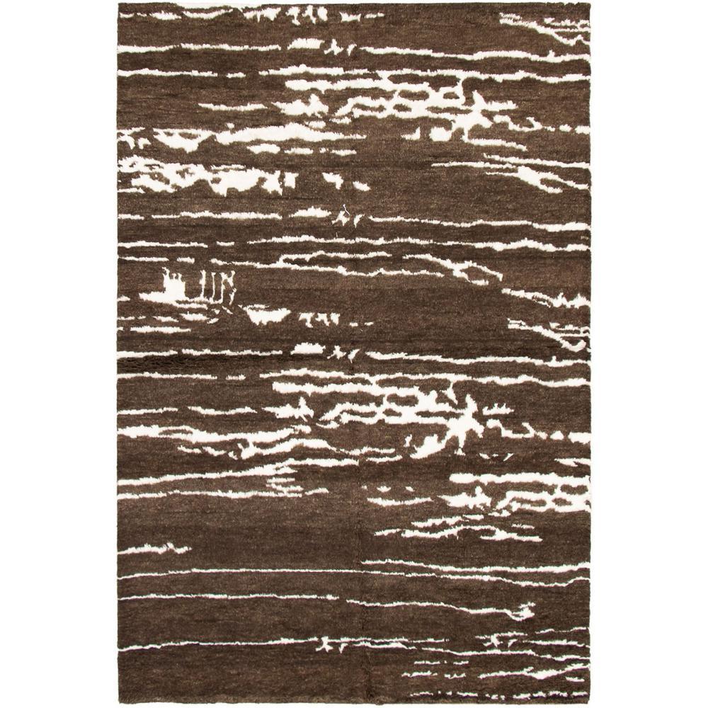 Ecarpet Gallery Arlequin Dark Brown 6ft 1in X 9ft