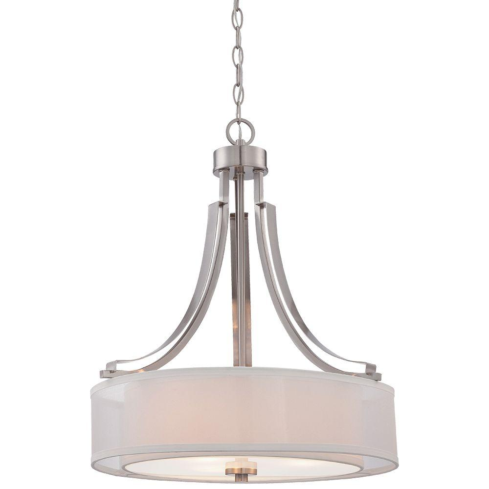 Minka lavery parsons studio 3 light brushed nickel pendant 4104 84 minka lavery parsons studio 3 light brushed nickel pendant arubaitofo Choice Image