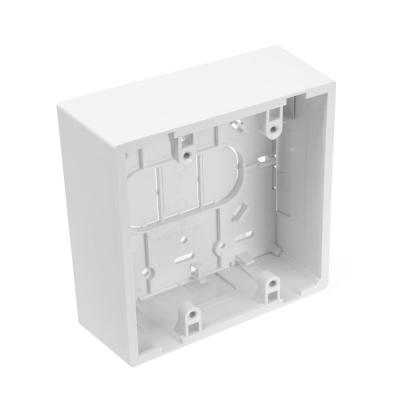 2-Gang 1.89 in. Box Depth Surface Mount Back Box, White
