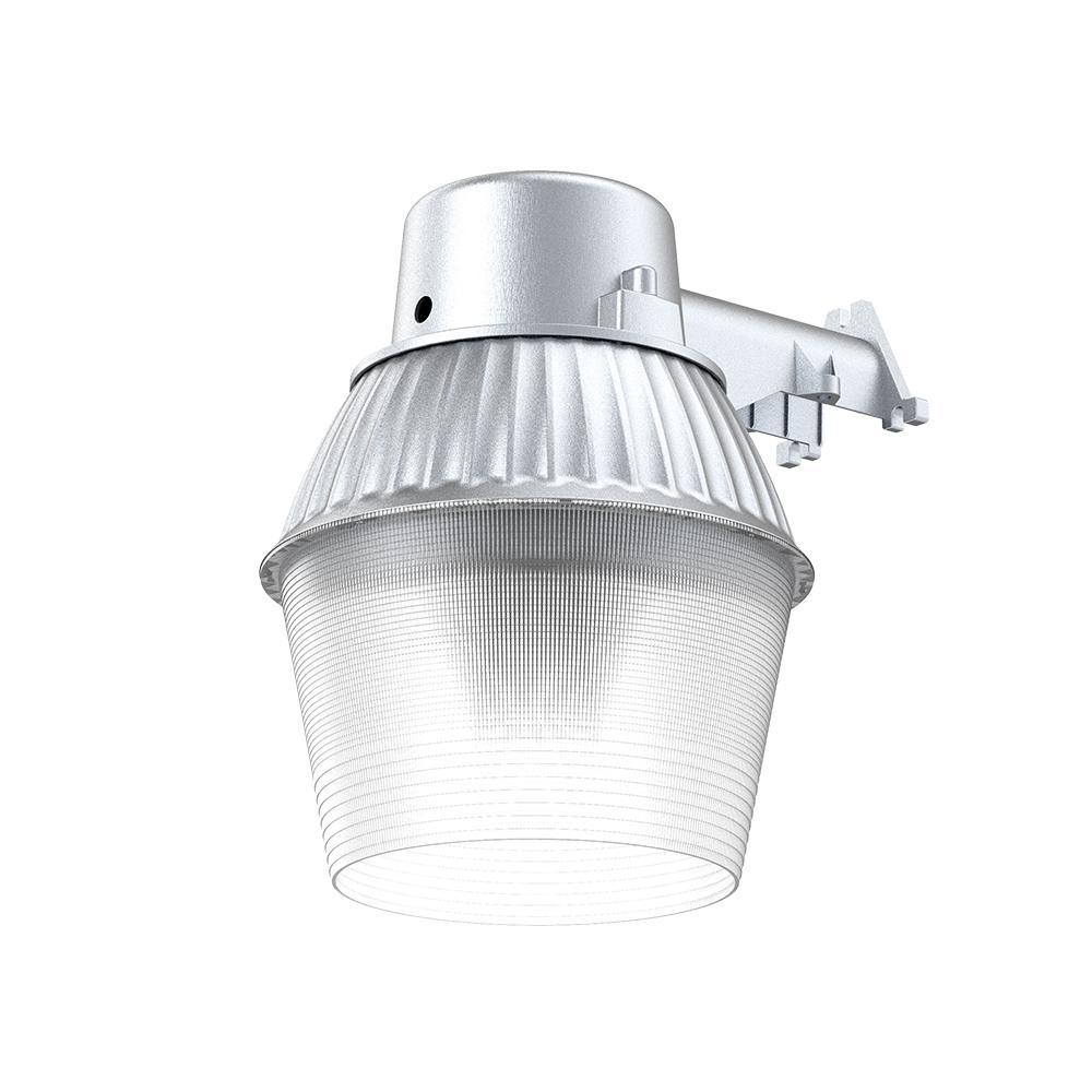 High-Performance 200-Watt Equivalent, 3300 Lumens LED Gray Dusk to Dawn Outdoor Area Light and Flood Light