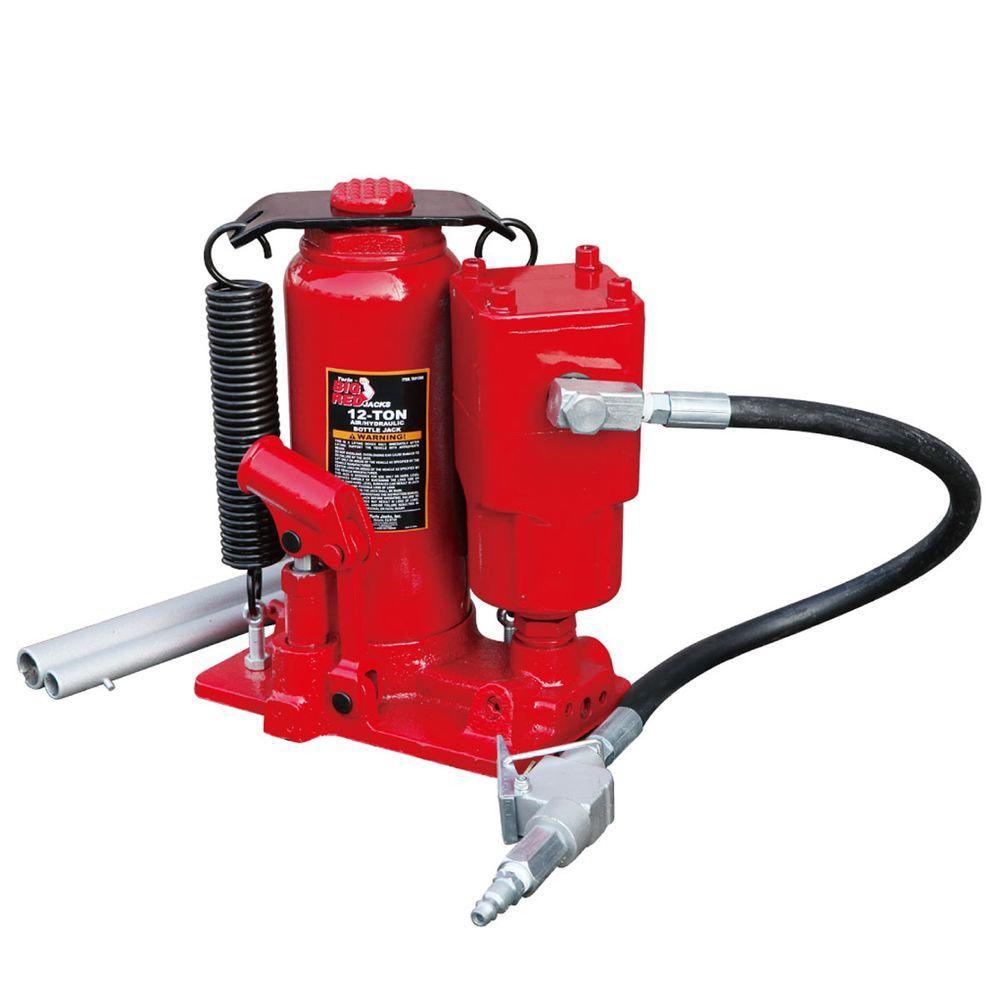 Big Red 12-Ton Air Hydraulic Bottle Jack-TA91206 - The ...