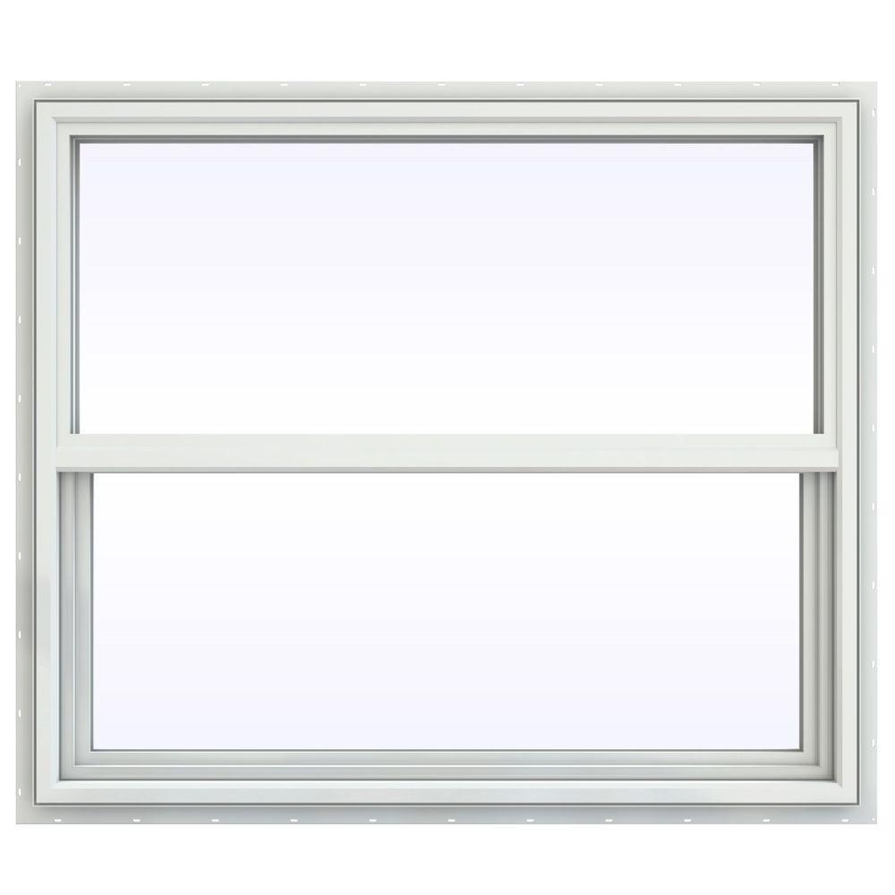 41.5 in. x 35.5 in. V-4500 Series Single Hung Vinyl Window
